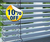 10% Off ALL Blinds
