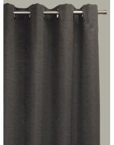Hilton Blockout Curtain - Charcoal