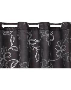 Curtain Korora Sheer - BlackCurtain Korora Sheer - Black