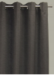 Hilton Blockout Curtain - CharcoalHilton Blockout - Charcoal