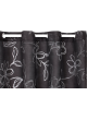 Curtain Korora Sheer - Black