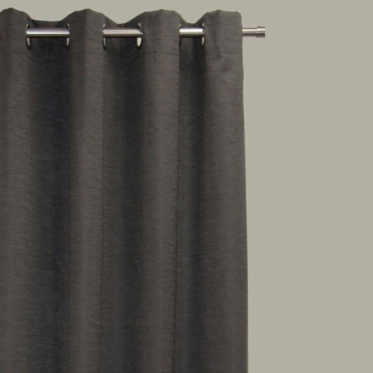 Hilton Blockout Curtain – Charcoal
